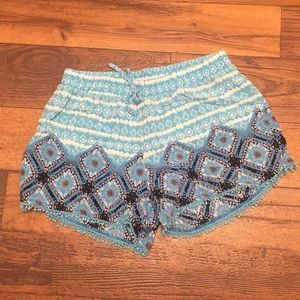 Justice shorts. Size 18